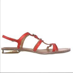 Tommy Hilfiger Sandals NWOT Orange Gold